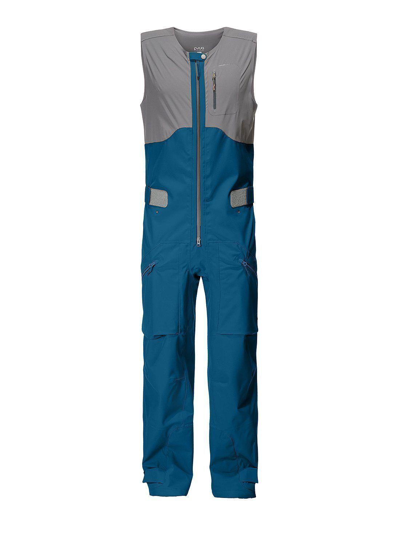 PYUA Freerider Latzhose Continuum-Y  blue UVP 449,-
