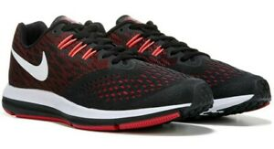 e967e7fcbdeb Nike Zoom Winflo 4 Black Red Running Shoes 898466-006 Men Size 14 ...