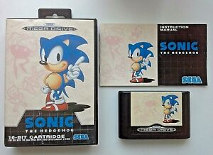 Sonic-The-Hedgehog-Sega-Mega-Drive-Rare-Retro-Game-Complete