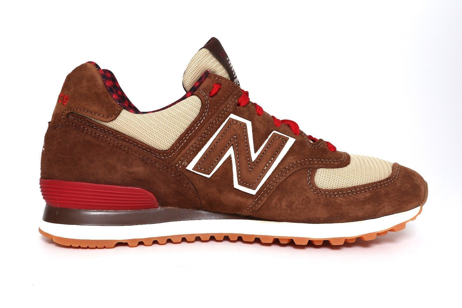 New Balance Classics sz 8 Paul Bunyan Brown Red Made in USA US574 [M574PB] 574