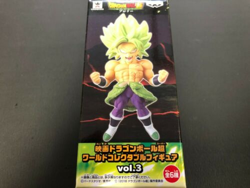 Movie Dragon Ball Super World Collectable Figure WCF Vol.3 BROLY from Japan