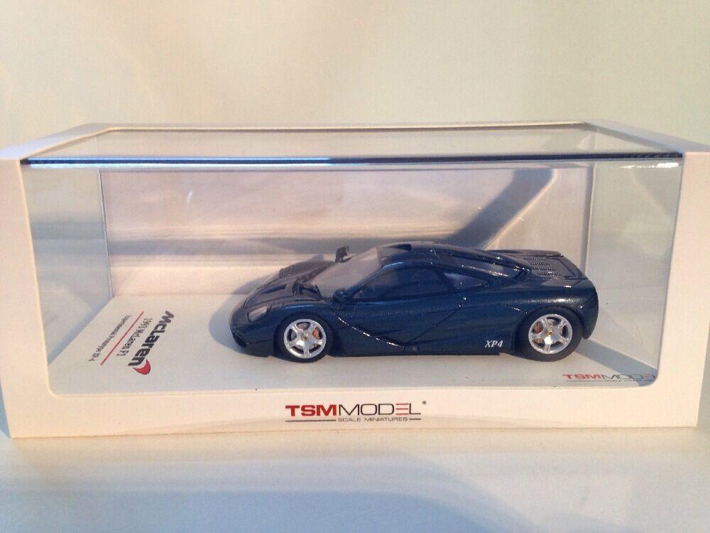 McLaren F1 Prougeotype  XP-4 bleu expériHommestal véritable échelle tsm134328 nouveau à l'échelle 01 43  présentant toutes les dernières mode de la rue haute