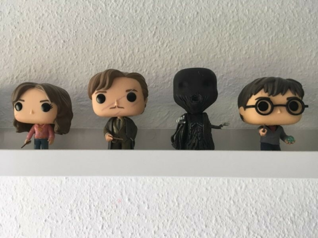 8 Harry Potter pop figurer, og 4 Fantastic Beasts , Pop,…