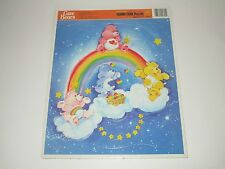 Golden 1986 Care Bears Extra Thick Frame Tray Puzzle
