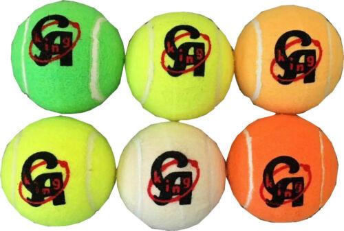 CA KING TENNIS BALLS SPORT PLAY CRICKET BALL OUTDOOR FUN BEACH ONE DAY MATCH