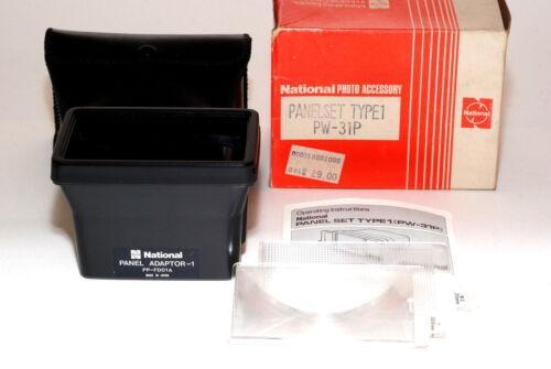 National PW-31P Panel Set 1 für Blitzgerät PE-3056 PE-326 PE-306A NEU//OVP