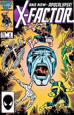 74 X-FACTOR BKS 1986 ORIGINAL X-MEN, 1st SABRETOOTH IN X-MEN BOOK,1st APOCALYPSE