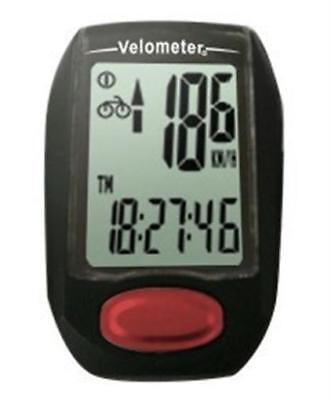 VELOMETER CY-517C WIRELESS 17 FUNCTION CYCLE COMPUTER Odometer Speedo