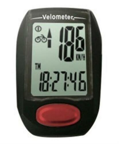 2 x VELOMETER CY-309BW 9 FUNCTION BICYCLE WIRED SPEED CYCLE COMPUTERS NEW RRP$79