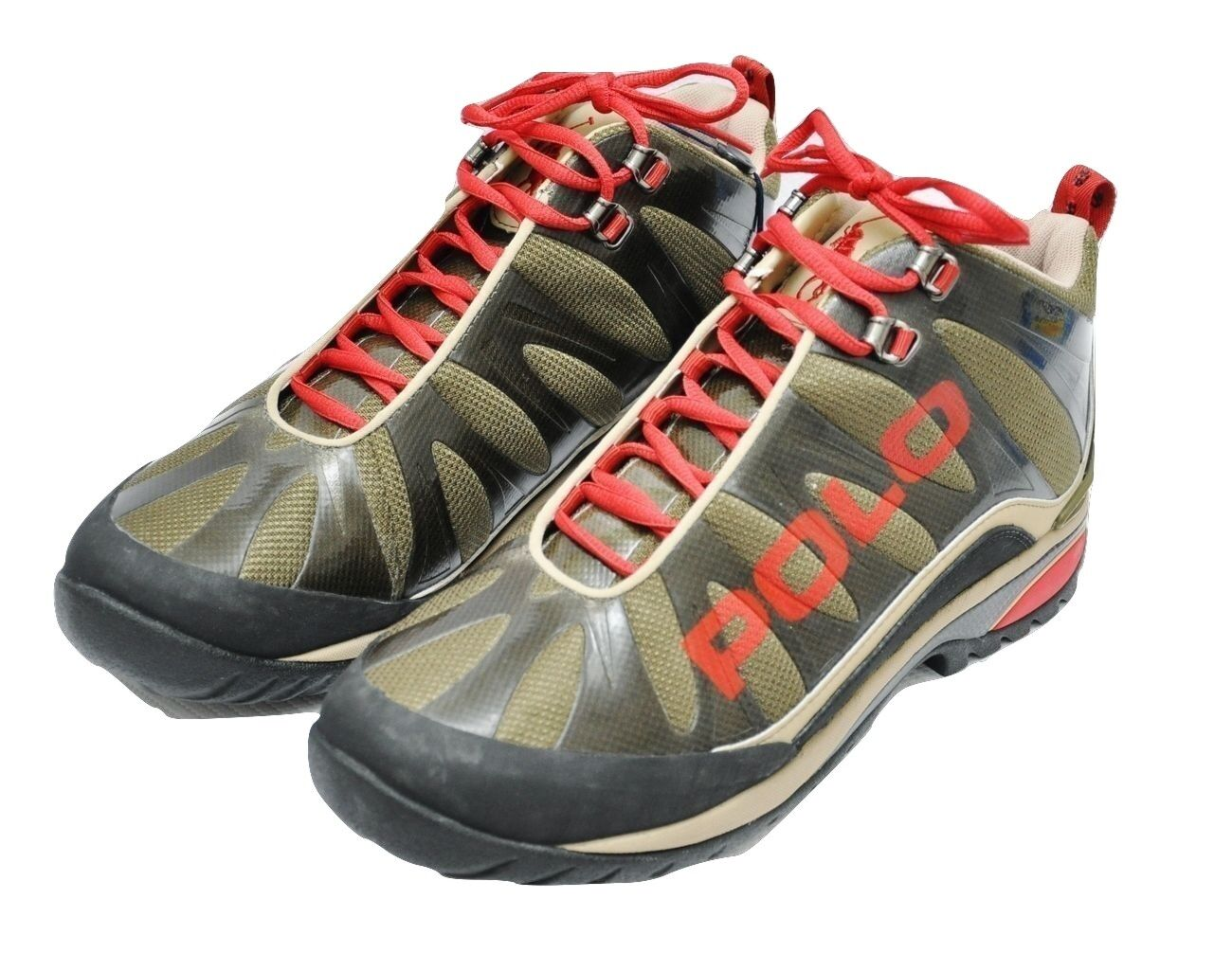 Polo Ralph Lauren SPIELMAN Sneakers Hiking Boots Olive 8.5 149