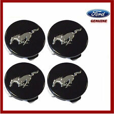 Genuine Ford Mustang 2015 On Alloy Wheel 55mm Centre Caps x4. New. 5342260
