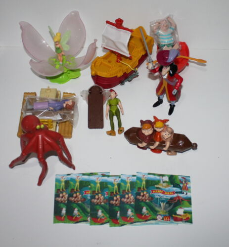 McDonald/'s MC DONALD/'S HAPPY MEAL 2002 Peter Pan Serie completa
