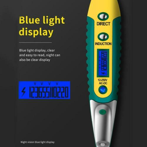 Multi-function Digital Display Electrical AC DC Voltage Detector Test Pen Tester