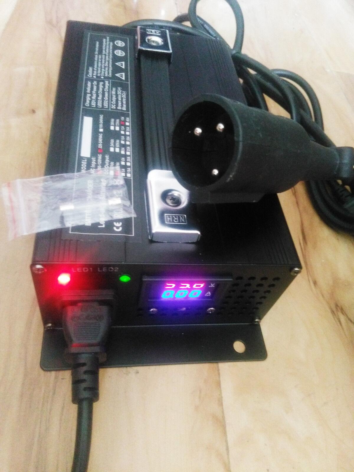 48v Club Car Golf Cart Battery Charger Connector 48 Volt 15 Amp Dpi Wiring Diagram Round 3 Pin Plug Ebay