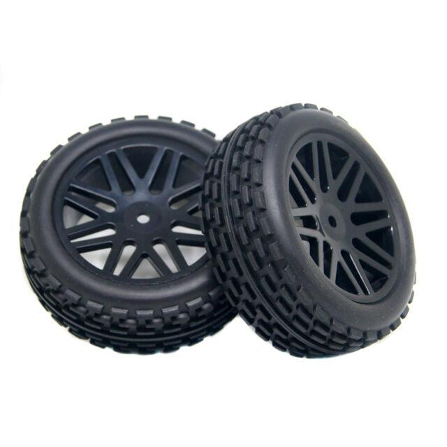 RC 4pcs Front&Rear Tires Insert Sponge Wheel HSP 1:10 Off-Road Buggy 66062-6672