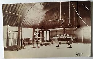 BRIGHTON ENGLAND 1906 Roedean School for Girls REAL PHOTO POSTCARD Gymnastics