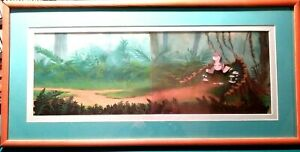 BABY-T-REX-LAND-BEFORE-TIME-II-BLUTH-STUDIOS-KEY-PRODUCTION-SETUP-NEW-FRAMED