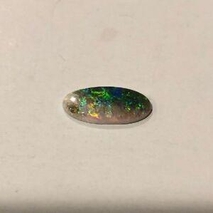 8mm x 6mm Natural Amber Oval Cabochon Gem Gemstone