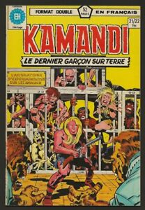 KAMANDI-21-22-Double-Format-in-French-Heritage-Francais-Marvel-1974