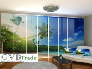 Window Treatments & Hardware Intellective Fotogardinen Ocean Schiebevorhang Schiebegardinen Vorhang Gardinen 3d Fotodruck