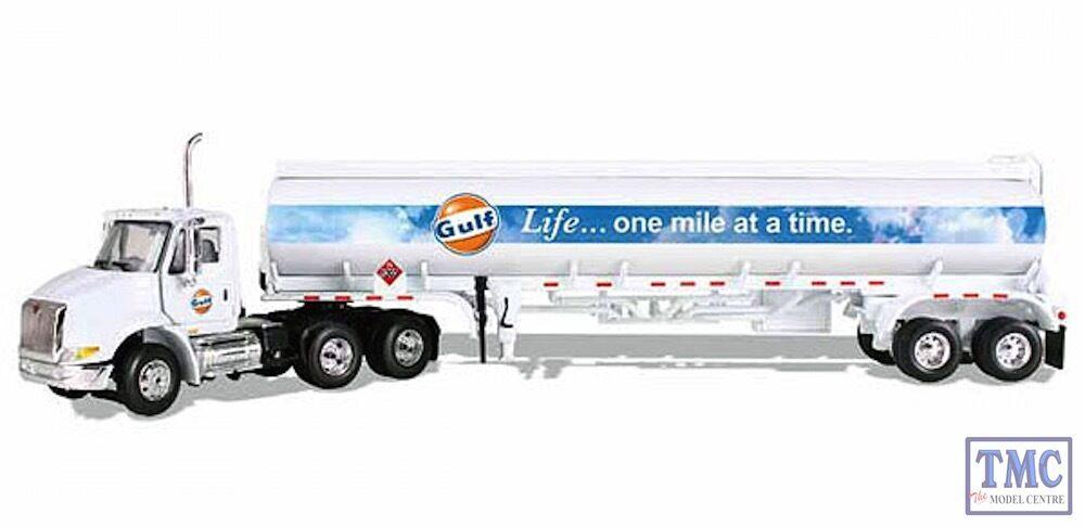 1. gang 69-0290 internationalen 8600 gulf oil mit 42 tank trailer