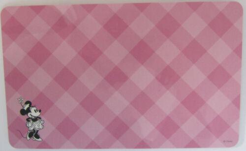 Disney Frühstücksbrett*Minnie Mouse*Rosa kariert*Grösse:ca 23,5x14,5cm*Neu*OVP