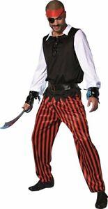 Deguisement-Homme-CORSAIRE-6-pieces-M-L-Pirate-NEUF-adulte-pas-cher-neuf
