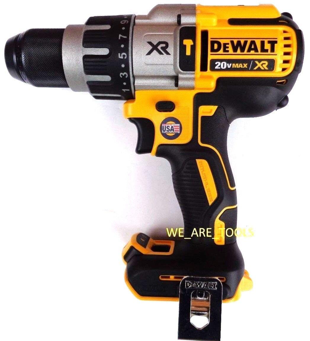 New DeWalt DCD996 20V Max XR Brushless 3-Speed Cordless 1/2 Hammer Drill 20 Volt. Buy it now for 124.97