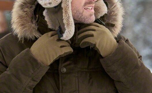 Blaser Fleece-Handschuhe oliv - oliv Fleece-Handschuhe melange 113010-008 dd4fdd