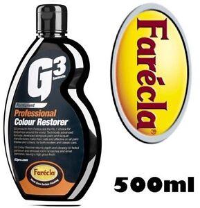 FARECLA-PROFESSIONAL-G3-COLOUR-RESTORER-500ML-COLOR-PAINT-FADE-SCRATCH-CUT