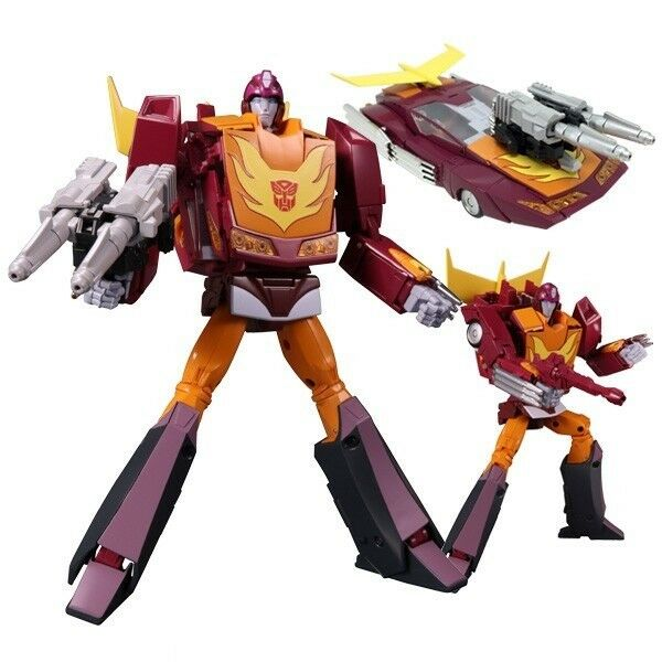 servicio considerado Transformers Masterpiece MP-40 Targetmaster Hot Rodimus Varilla Takara vendedor vendedor vendedor de EE. UU.  comprar marca