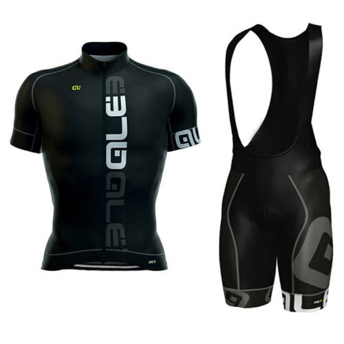 2019 Men Bike Team Cycling Jersey Bib Shorts Set Short Sleeve Bicycle Sportswear
