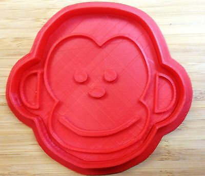 Monkey Face Cookie Cutter - Choice of Sizes - 3D Printed Plastic