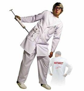 Fasching Karneval Notarzt Kostum Mantel Doktor Arzt Kittel Gr 48 50