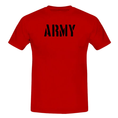 ARMY 1 Men/'s Lads Boys Cool Casual Comfortable T-Shirts S-XXL