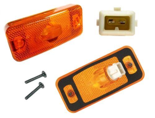 1x Orange//Amber Indicator Side Marker Light for Peugeot Boxer 2006/> Bulb W5W