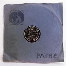 78T SAPHIR Robert MARINO Disque Phonographe NUIT GRISANTE Chant PATHE 93014 RARE