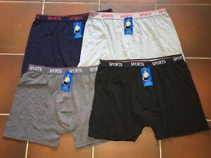 Uomo-Herren-Boxershorts-versch-Farbe-Baumwolle-Gr-L-XL-XXL-XXXL-2XL-3XL-4XL-5XL