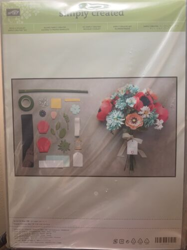 Simply Created Build a Bouquet Kit Flowers Retired NEW in Package Stampin/' Up