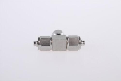 2.5mm X 4mm Aire Tubo Neumático Montaje Rápido Conector Acoplador en T