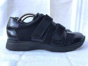 Uk Gucci Eur Women's Trainers Black 38 5 leather Shoes Mesh Size xCwCS01qn