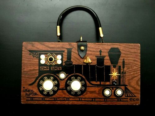 Enid Collins Iron Horse Vintage Wood Box By Collin