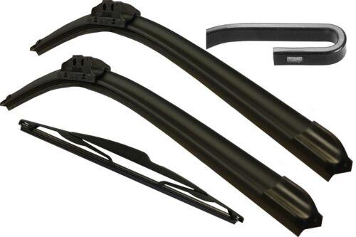 Front /& Rear Windscreen Wiper Blades NISSAN X-TRAil MK2 2007/>2014