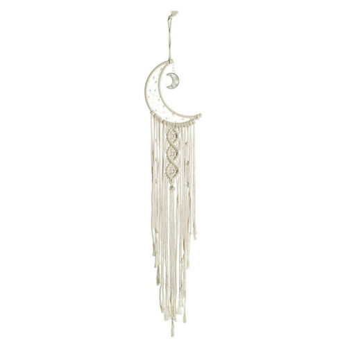 Moon Crescent Dream Catcher Hanging Decor Wall Hanging Tapestry Tassel Ornament