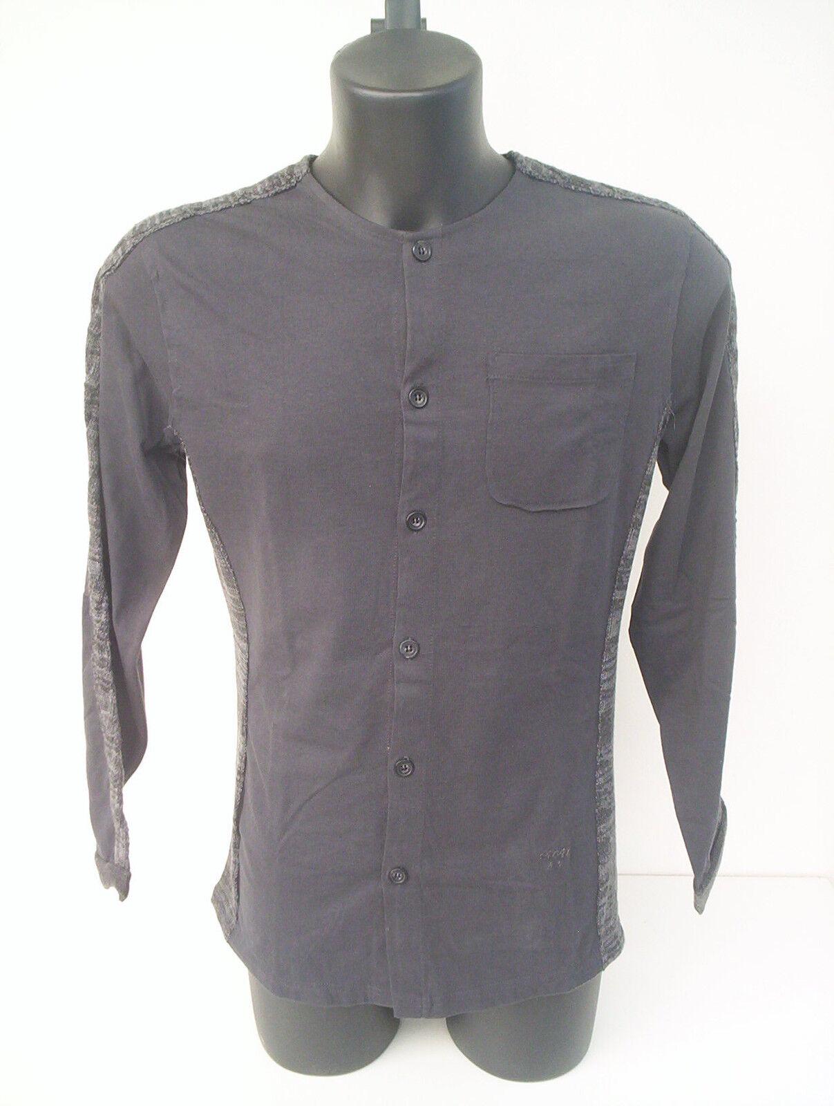 Cardigan Roberto Cavalli,colore grigia con inserti in lana, tg 46