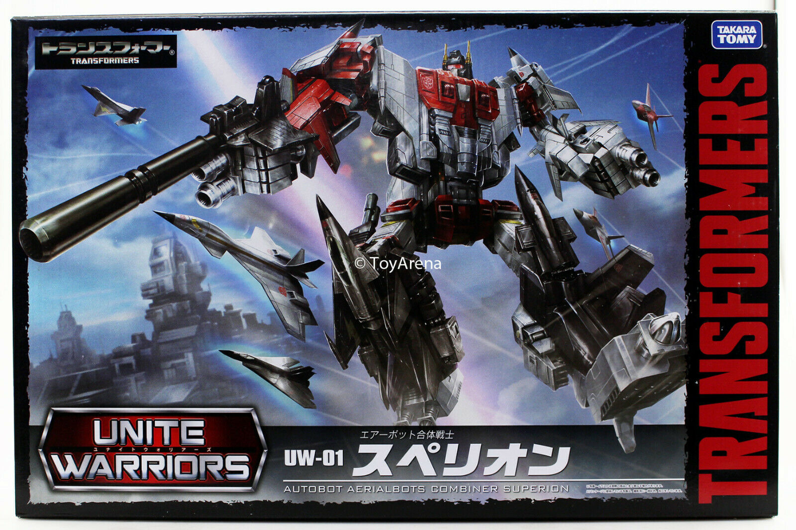 Transformers unire Guerrieri UW01 Superion Aerialbot COMBINATORE USA IN MAGAZZINO