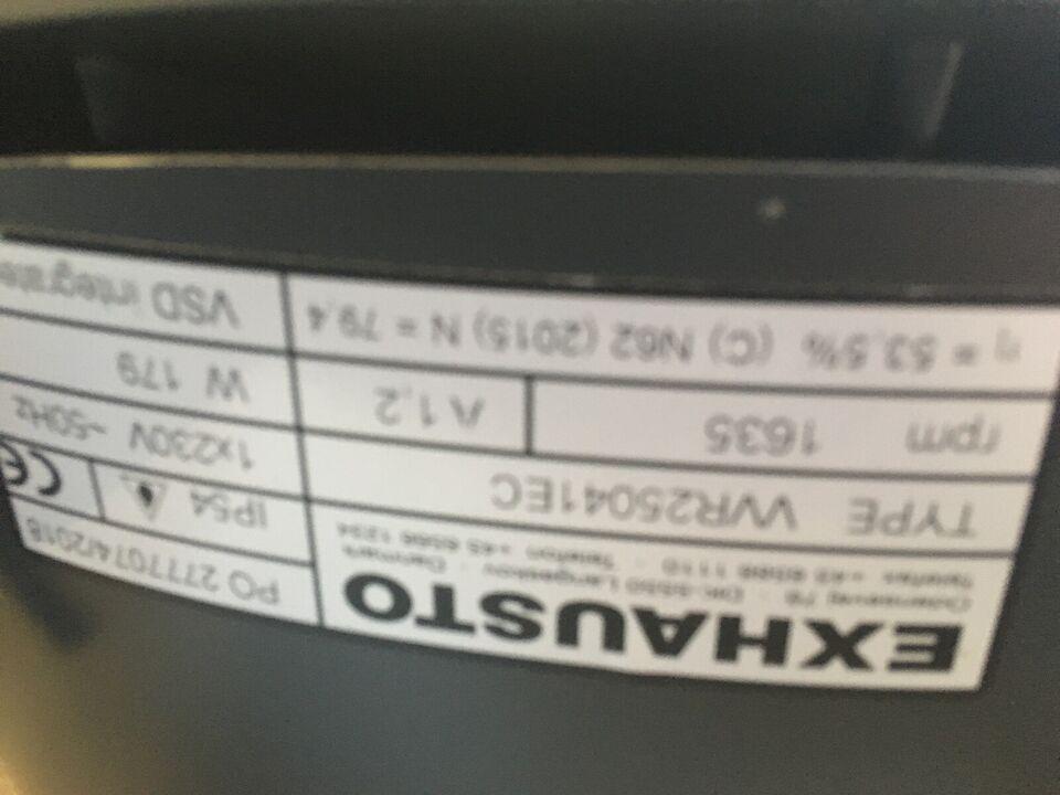 Ventilationsanlæg, Exhausto