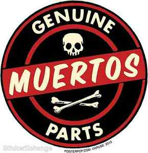 Genuine-Muertos-Parts-Sticker-Decal-Kruse-RK38-Roth-Like