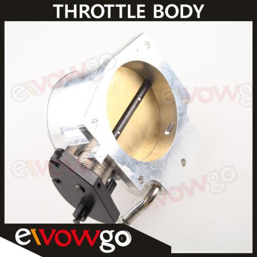 90mm Billet Throttle Body Intake For GM LS LS2 LS3 LS7 LSX Aluminum Silver
