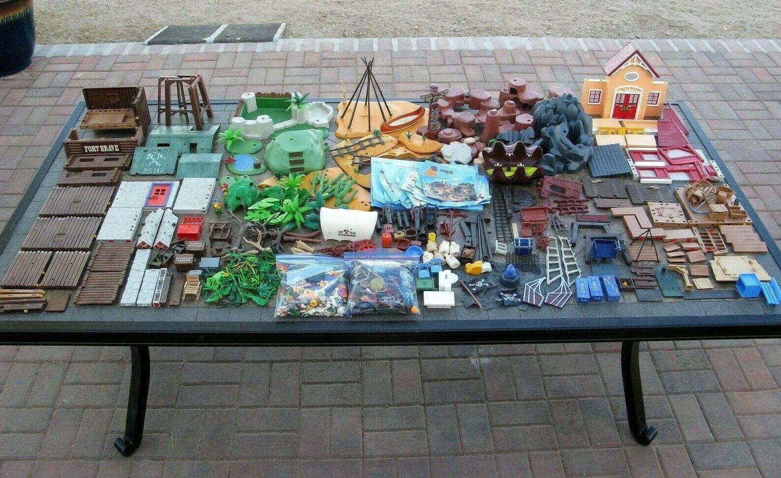 El gran Jugarmobil, cientos de piezas y componentes.